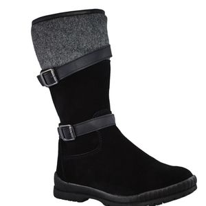 Hot Paws suede winter boots